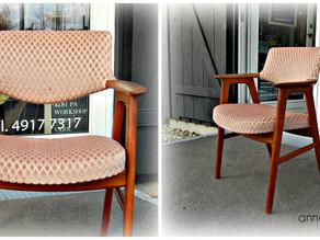 Bohemestil på 1950er stol.