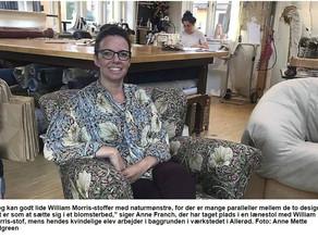"""Her kan du læse om mig som """"en af Allerøds kreative kvinder"""" i vores lokale avis Allerød N"""