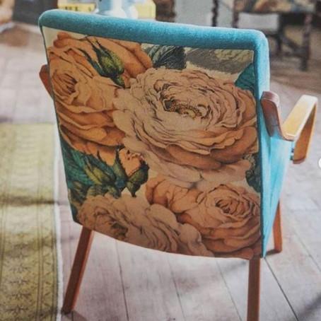 Så smukt møbelstof fra John Derian!