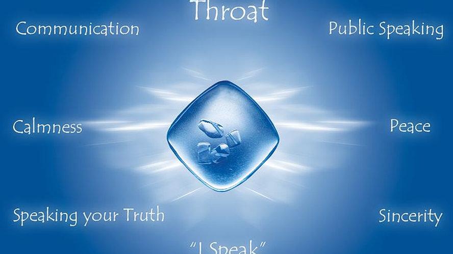 Blue (Throat) Quantum Balancing Crystal