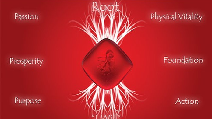 Red (Root) Quantum Balancing Crystal