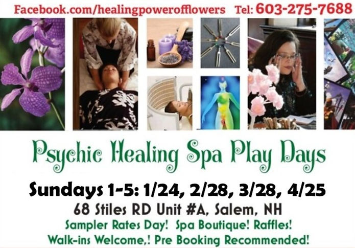 Psychic Fair Rates Day at the Healing Power of Flowers