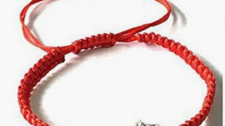 Red Hamsa Evil Eye Protection Bracelet