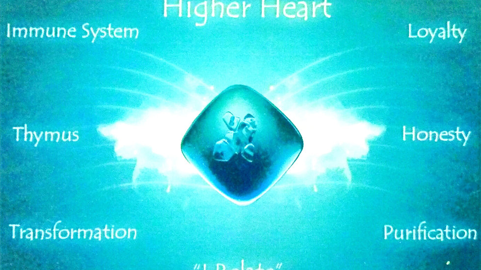 Aqua (Higher Heart) Quantum Balancing Crystal
