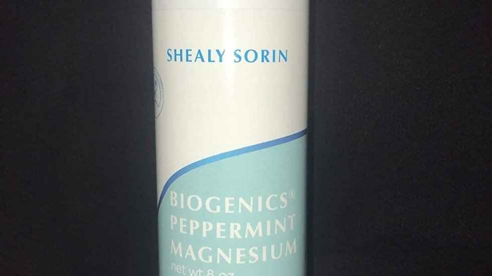 Magnesium Lotion with Peppermint Oil 8oz. Bottle
