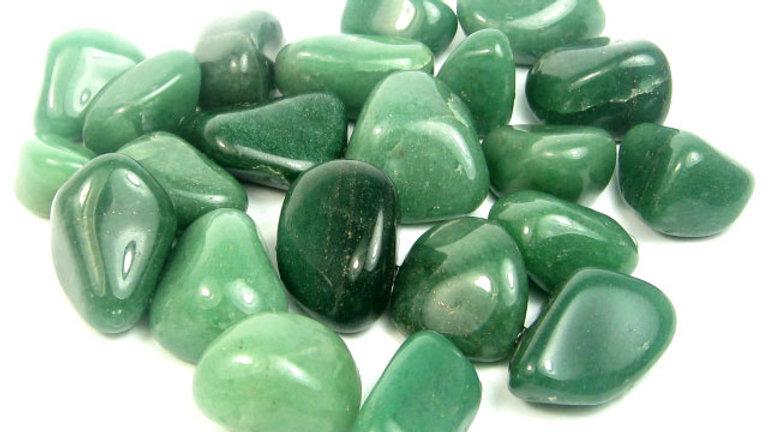 Green Aventurine Gem Bottle Angelic Healing Love Elixir 15ml roll-on