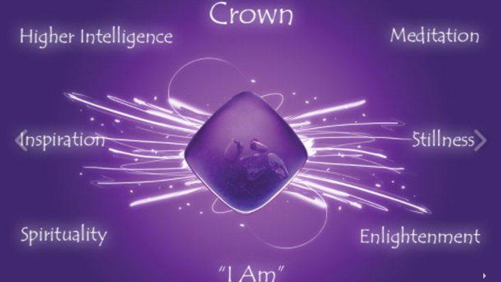 Purple (Crown) Quantum Balancing Crystal