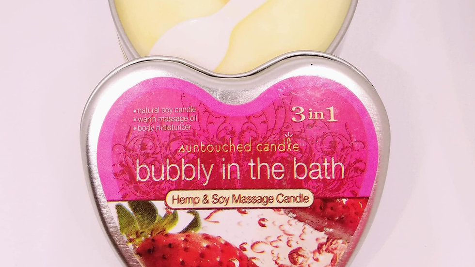 Bubbly in the Bath Soy Candle 4oz