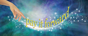 Pay it Forward with loving sparkles - fe