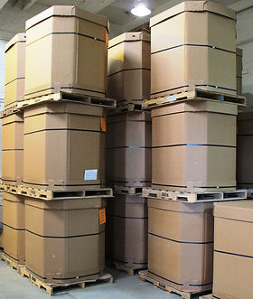 seed in tri-walls bulk packaging