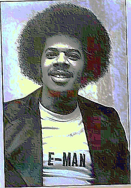 The E-Man in London 1975