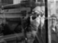 Street photograph self-portrait