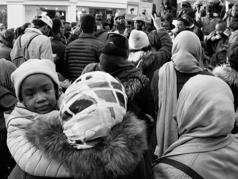 Families at #sudan-revolts Newcastle Upon Tyne Street Photography