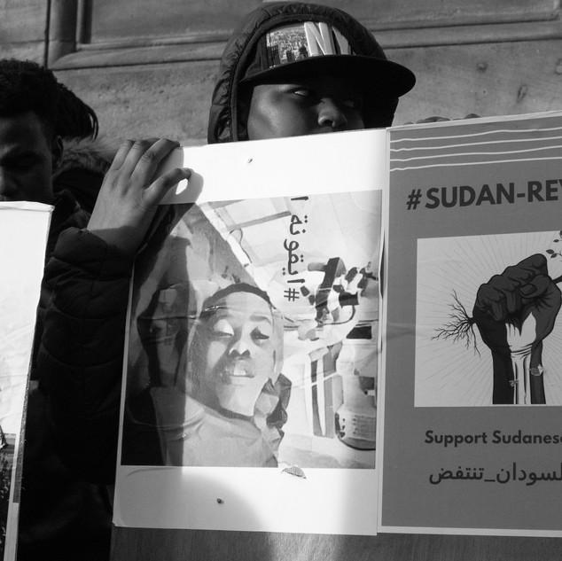 #SUDAN-REVOLTS Newcastle Upon Tyne
