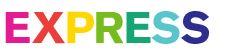 EXPRESS Love Unites Collection LGBT PRIDE Rainbow Logo