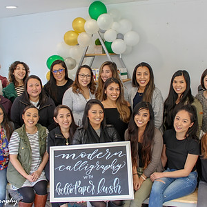 Calligraphy Class in Los Gatos