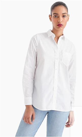 Classic-fit boy shirt in cotton poplin @ J.Crew for $69.50