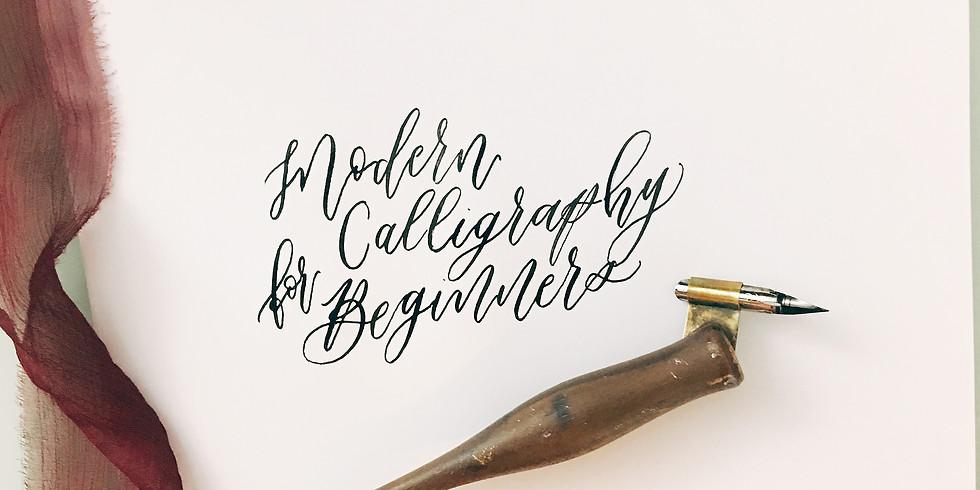 Modern Calligraphy Workshop (1)