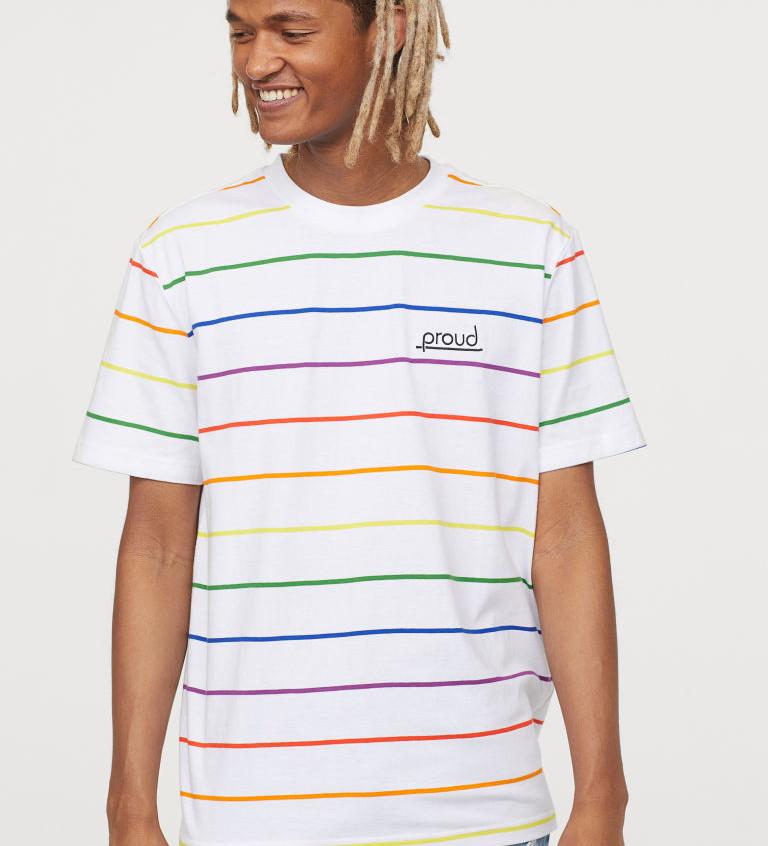 LGBT Pride Rainbow Men's T-Shirt