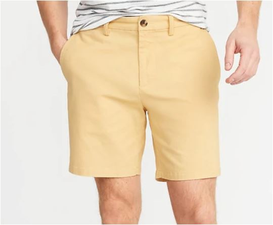 Old Navy Men's Yellow Shorts