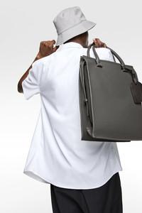 Convertible dress tote bag @ ZARA for $89.90