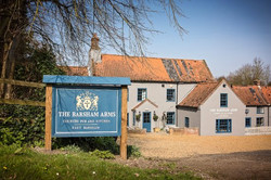 The Barsham Arms Front