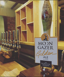 The Barsham Arms Beer Taps