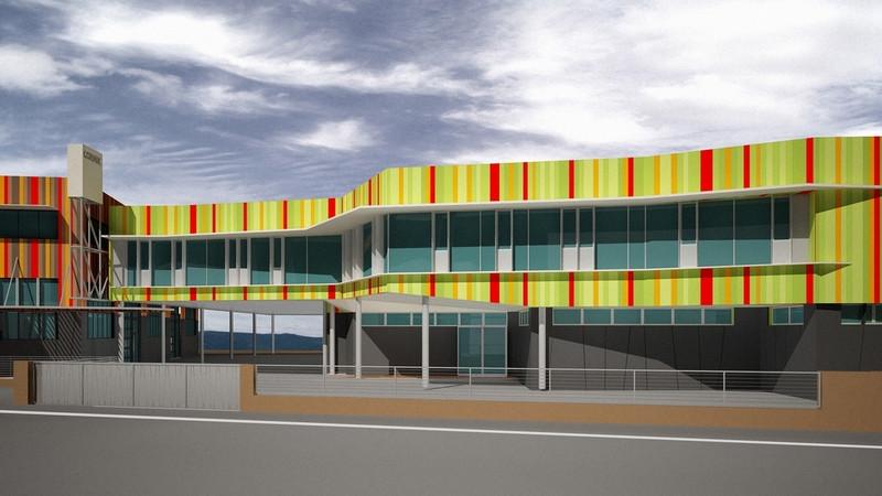 cormik uffici azienda ristrutturazione aziendale rivestimento facciata