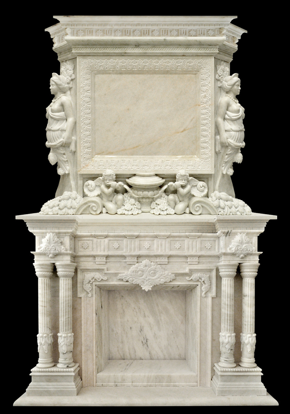 Monumental fireplace