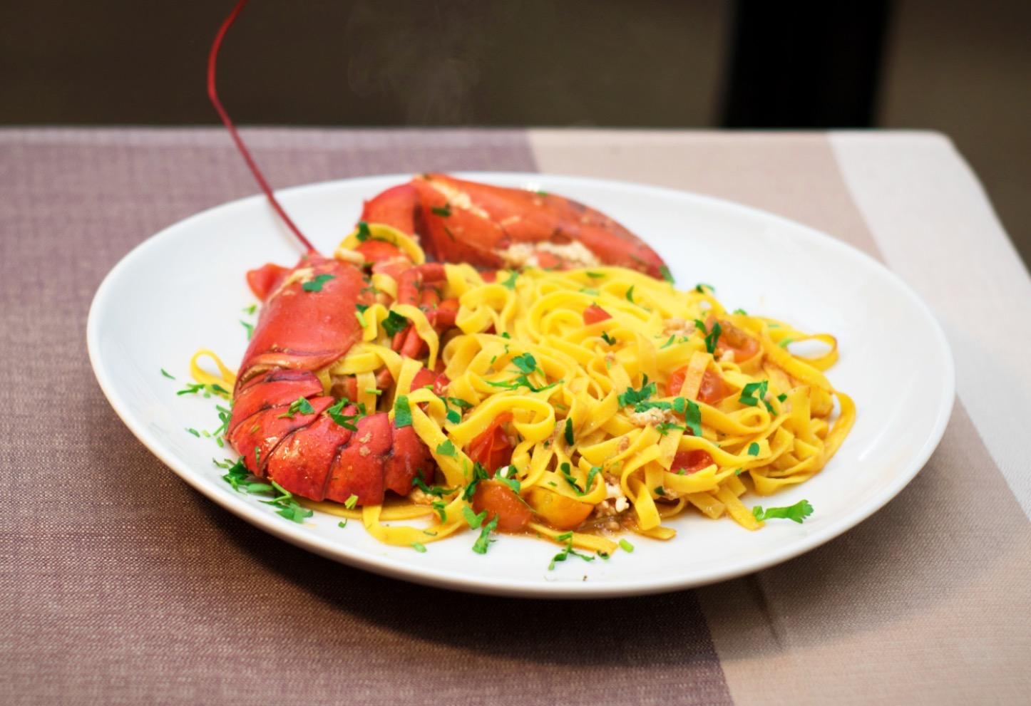 lasagne astice pesce