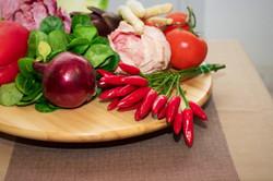 verdure peperoni cipolla pomodori