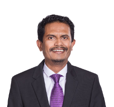 Singapore Airlines' Vice President Cargo Sales & Marketing, Mohamed Rafi Mar