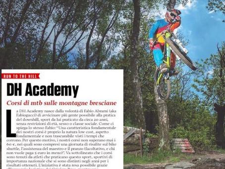 Primo articolo su Mountain Biking Italia