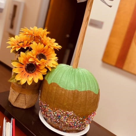 6. Carmel Apple Pumpkin