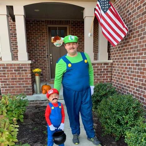 6. Mario and Luigi