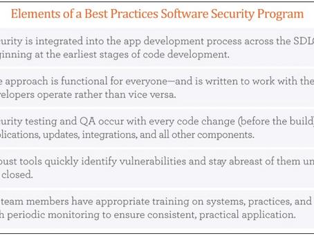 Application Security: Designing a successful program