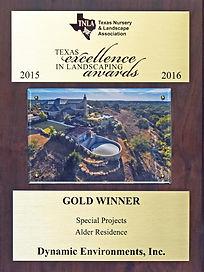 TNLA Gold award