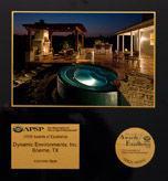 APSP Gold award
