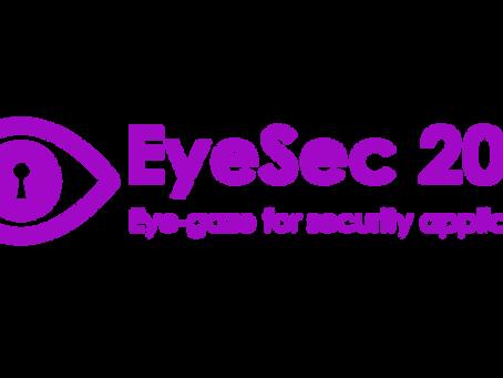 EyeSec Workshop at ETRA 2020