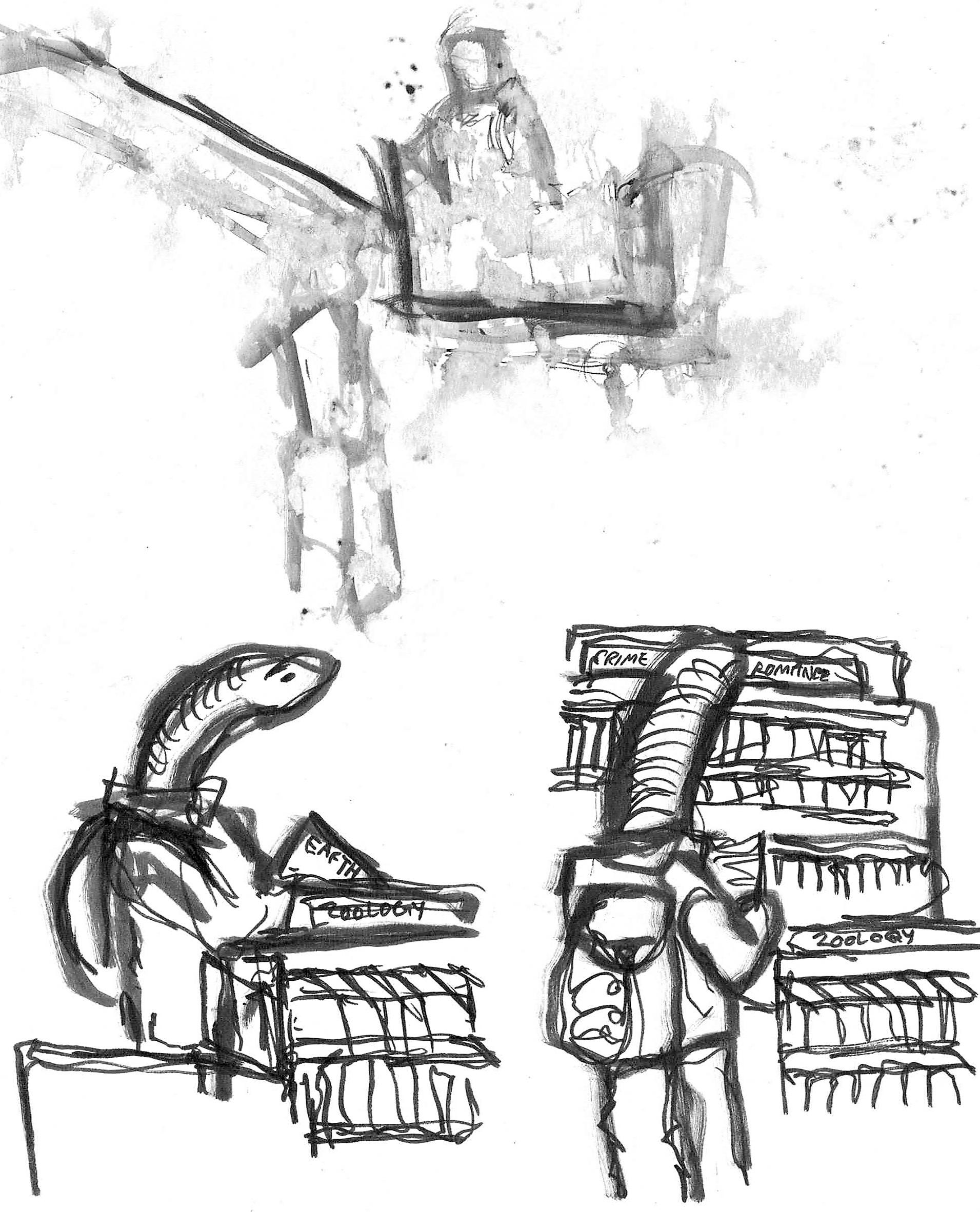 Bookworm and fireman