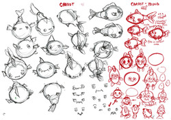 Carrot character design exploration