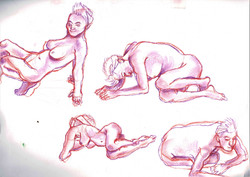 Life drawing- Female