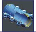 manchon de reparation PVC PEHD