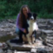 Arrow and Melissa on a Waterfall Hike.