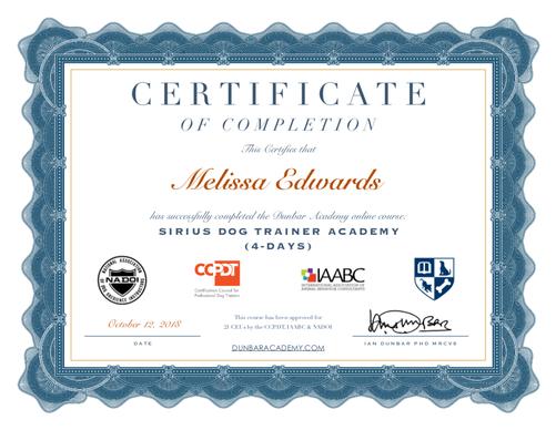 Sirius dog training academy