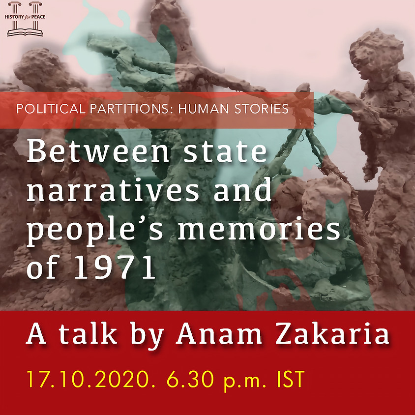 Between state narratives and people's memories of 1971