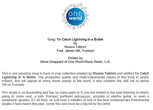 To Catch Lighning in a Bottle - Review.j