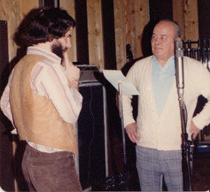 Father and son recording