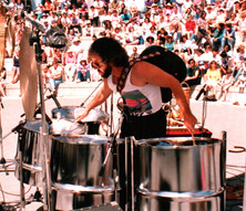Kluane and steel drums