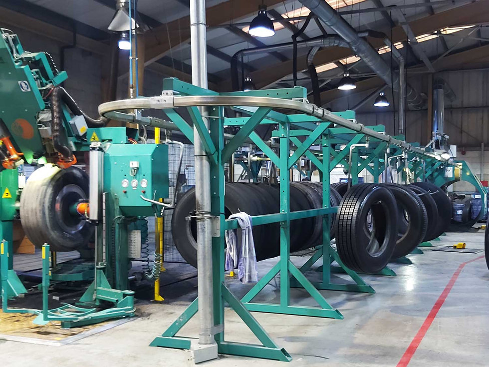 eco tyre tread solutions factory